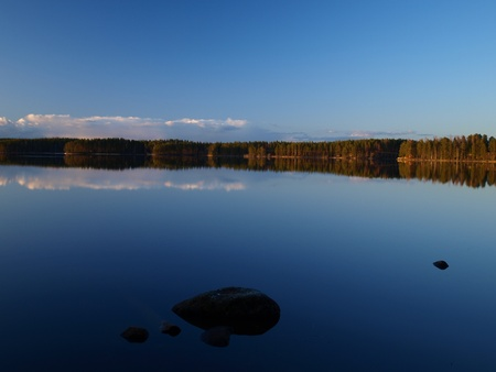 billow: Windles water 2 Stock Photo