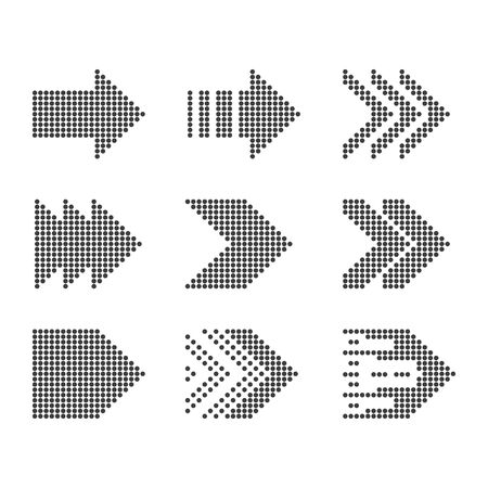 arrows vector collection with elegant style and black color 일러스트