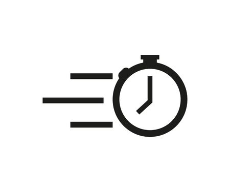 symbol timer vector icon on white background, vector Banque d'images - 133191747