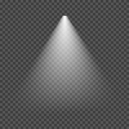 illumination, transparent effects on a dark background, vector