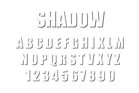 3d poster alphabet, flat design, vector font, line art, minimal poster flat