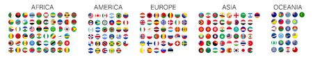 Flags of the world, great design for any purposes. Isolated vector sign symbol.