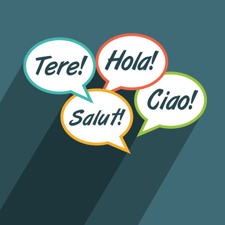 multilingual: Multilingual environment illustration