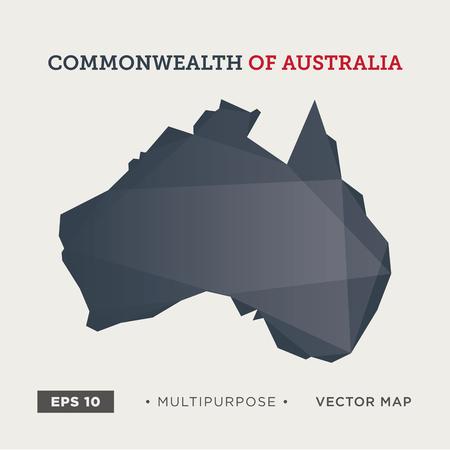 moder: Moder map of Australia