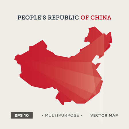 moder: Moder map of China