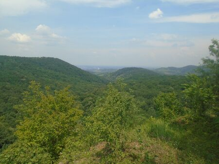 Rakovac village Fruska gora mountain Serbia