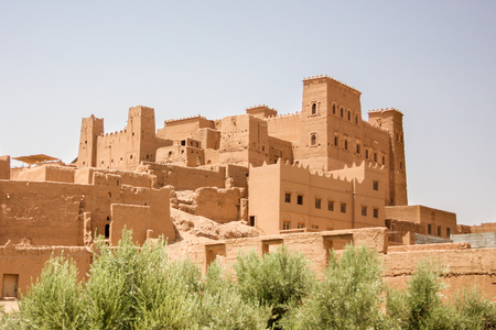 Traditional Kasbah in Morocco