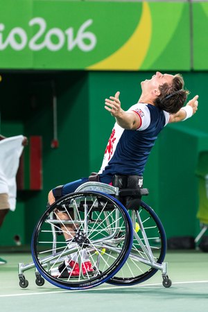 Summer Paralympic games in Rio in 2016