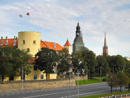 Castle of Riga in Old Riga photo