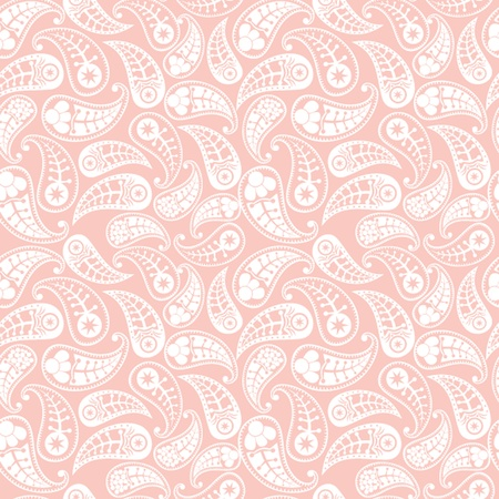 wrapping paper: Seamless paisley pattern.