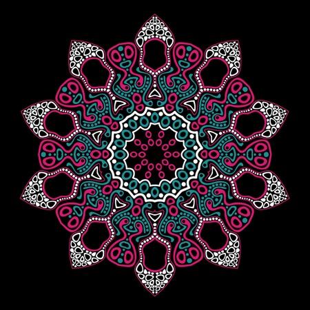 ornamental round lace Stock Vector - 11662757