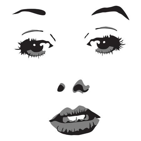illustration of woman portrait Stock Vector - 11811070