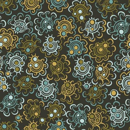 illustrator: Abstract seamless pattern Illustration