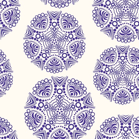 Floral seamless pattern with flowers. Copy square to the side and youll get seamlessly tiling pattern which gives the resulting image ability to be repeated or tiled without visible seams.