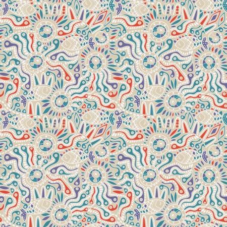 Ethnic seamless pattern.  Vector