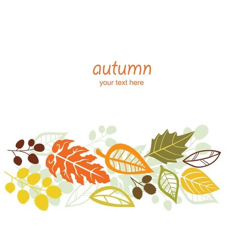 Falling Autumn Leaves sfondo Archivio Fotografico - 21240687