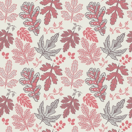 Seamless pattern with leaf. Copy that square to the side and youll get seamlessly tiling pattern which gives the resulting image the ability to be repeated or tiled without visible seams.