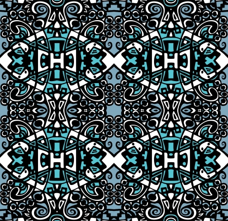 chaos theory: Psychedelic abstraction background, symmetric  pattern  wallpaper