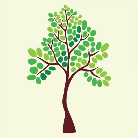Illustrazione di albero. Archivio Fotografico - 21403920