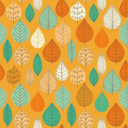 Seamless pattern with leaf, abstract leaf texture, endless background.Seamless pattern can be used for wallpaper, pattern fills, web page background, surface textures. Vector