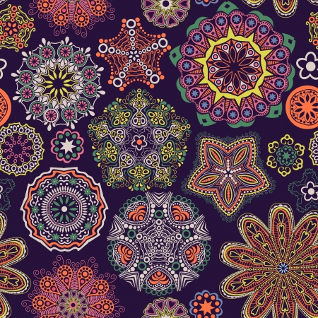 embroidery designs: Floral seamless pattern with flowers. Copy square to the side and youll get seamlessly tiling pattern which gives the resulting image ability to be repeated or tiled without visible seams.
