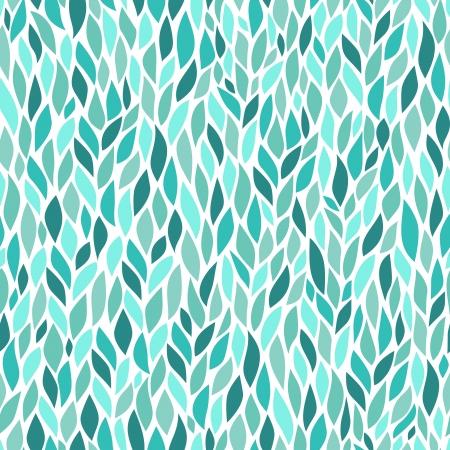 원활한 추상 손으로 그린 패턴 일러스트