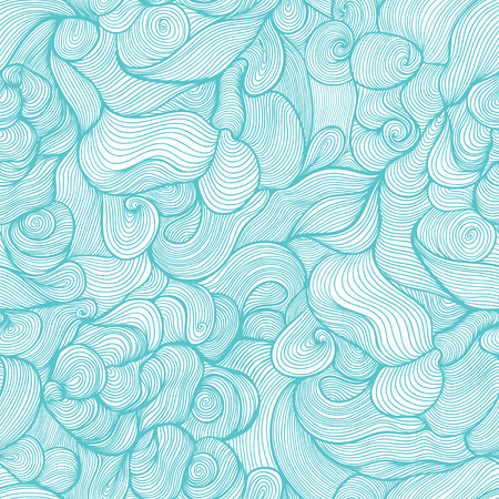Seamless pattern with leaf  Wallpaper with leaves Illustration