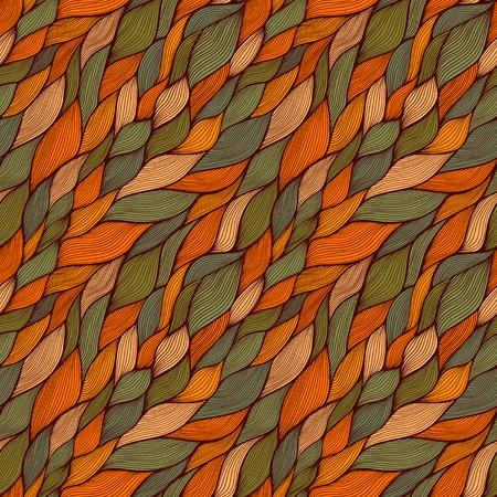 psychoanalysis: ornamental round lace pattern, circle background with many details, looks like crocheting handmade lace Illustration