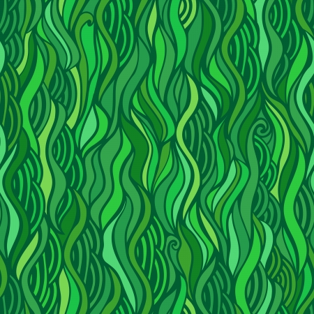 sheepskin: Seamless wave hand-drawn pattern, waves background (seamlessly tiling).Can be used for wallpaper, pattern fills, web page background,surface textures. Gorgeous seamless wave background Illustration