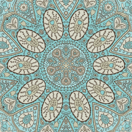 lace like: ornamental lace pattern, circle background with many details, looks like crocheting handmade lace, seamless texture