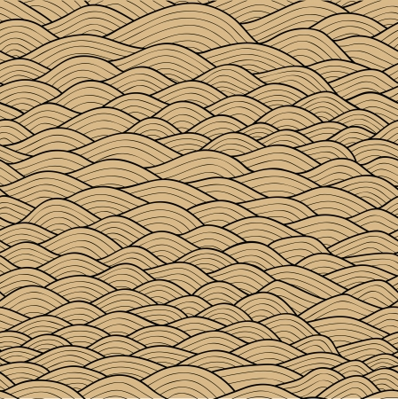 Seamless waves texture,wavy background.Copy that square to the side and youll get seamlessly tiling pattern which gives the resulting image the ability to be repeated or tiled without visible seams.