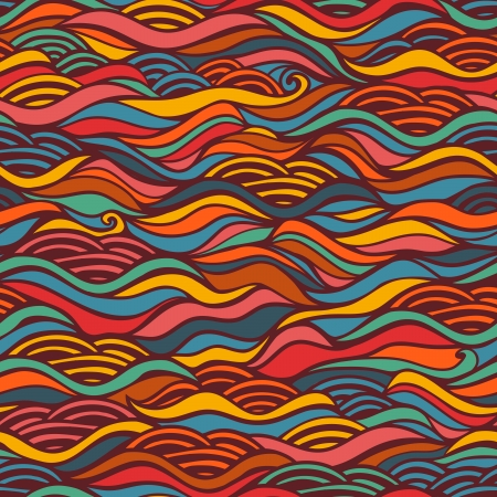 Seamless waves texture,wavy background.Copy that square to the side and you'll get seamlessly tiling pattern which gives the resulting image the ability to be repeated or tiled without visible seams.