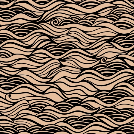 Seamless waves texture,wavy background.Copy that square to the side and youll get seamlessly tiling pattern which gives the resulting image the ability to be repeated or tiled without visible seams. Vector