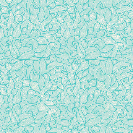 psychoanalysis: Seamless hand-drawn waves texture Copy that square to the side and you ll get seamlessly tiling pattern which gives the resulting image the ability to be repeated or tiled without visible seams  Illustration