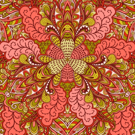 handkerchief: Ornamental lace pattern, background with many details, looks like crocheting handmade lace, lacy designs. Orient traditional ornament. Oriental motif
