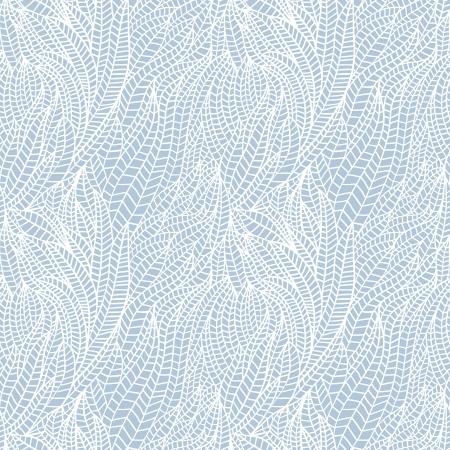 Naadloze abstracte hand getekende golven patroon, golvende achtergrond. Naadloos patroon kan worden gebruikt voor behang, patroonvullingen, webpagina achtergrond, oppervlaktestructuren. Gorgeous naadloze bloemen achtergrond Stock Illustratie