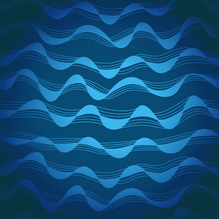clots: Seamless hand-drawn waves texture Copy that square to the side and you ll get seamlessly tiling pattern which gives the resulting image the ability to be repeated or tiled without visible seams  Illustration