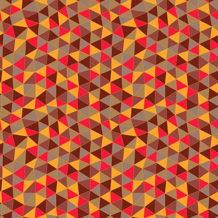 color, colorful, pattern, fashion, shape, background, backdrop, grid, spectrum, modern, artwork, retro, banner, parallelepiped, decoration, square, periodic, flow of colors, triangle pattern, cloth, yellow, repeated, seamlessly, graphic, decor, element, d Vector