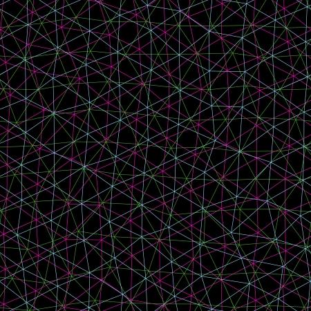 interweaving: Seamless pattern si presenta come intreccio delle linee. Vettoriali
