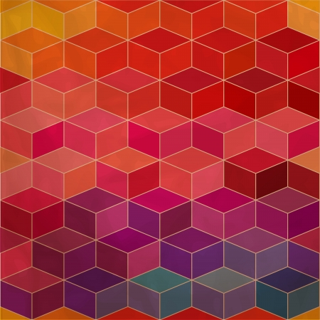 Spectrum geometric background.  Vector