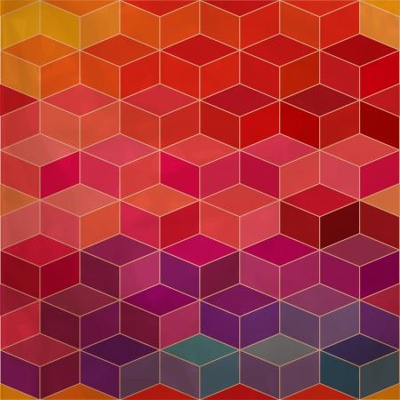 square background: Spectrum geometric background.
