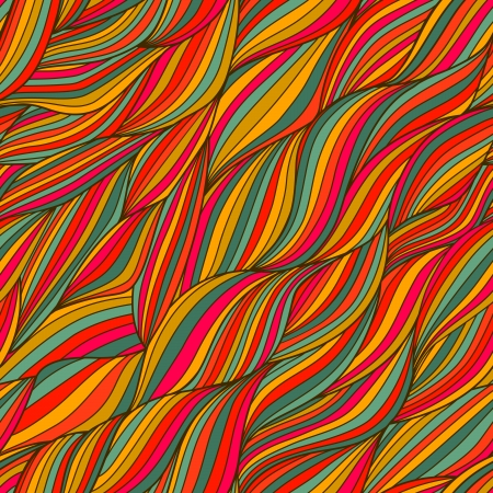 vector seamless abstract hand-drawn pattern Vector