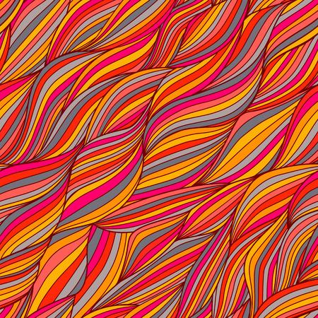 Seamless texture with abstract flowers   Illusztráció