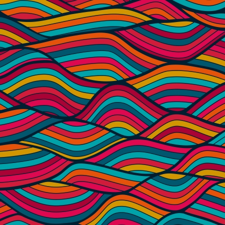 waves pattern: Waves pattern. Illustration