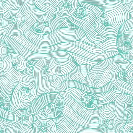 Seamless abstract hand-drawn waves texture.Copy that square to the side and youll get seamlessly tiling pattern which gives the resulting image ability to be repeated or tiled without visible seams. Vector