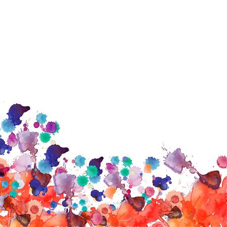 fondos violeta: Pintura de aerosol vector salpicaduras de fondo de acuarela