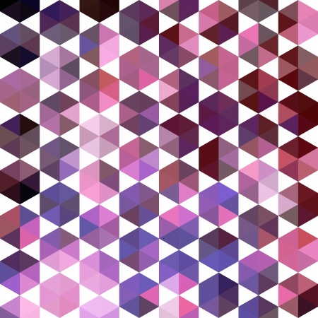 parallelepiped: Retro pattern of geometric shapes. Colorful mosaic banner. Geometric hipster retro background with place for your text. Retro triangle background