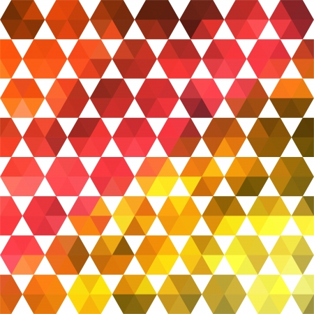 Retro pattern of geometric shapes. Colorful mosaic banner. Geometric hipster retro background with place for your text. Retro triangle background Vector
