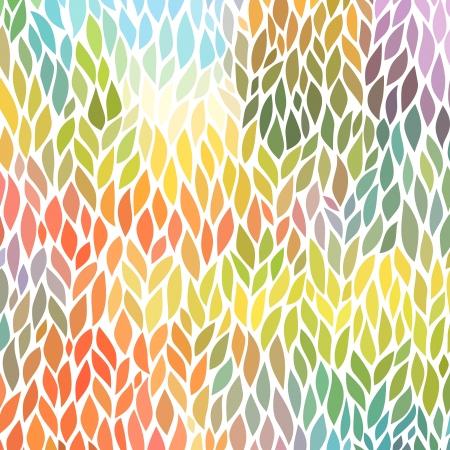 vector naadloze abstracte handgetekende patroon Stock Illustratie