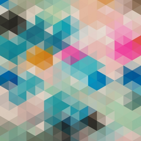 rhomb: Pattern of geometric shapes, rhombic.Texture with flow of spectrum effect.Geometric background. Copy that square to the side, the resulting image can be repeated, or tiled, without visible seams. Illustration